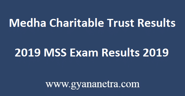 Medha-Charitable-Trust-Results