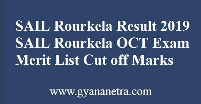 SAIL Rourkela Result