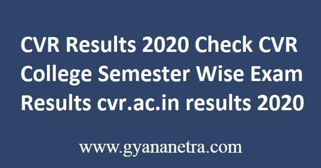 CVR Results