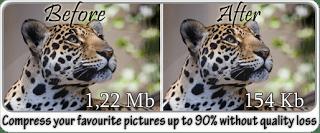 गुणवत्ता बरकरार रखते हुए चित्र का आकार छोटा करें