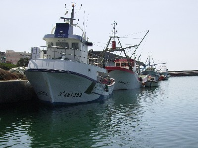 Photo: Adra, Spain fishing harbor. Credit: Lisa Borre.
