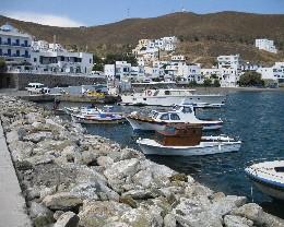 Photo: Asipalaia Harbor, Greece. Credit: L. Borre.