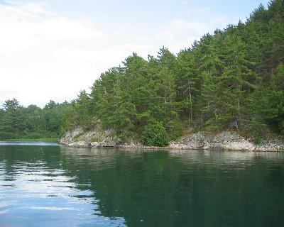 Photo: Baie Fine, North Channel, Ontario. Credit: L. Borre.