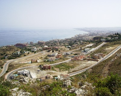 Photo: Development projects on the Spanish coast. Credit: Lisa Borre.