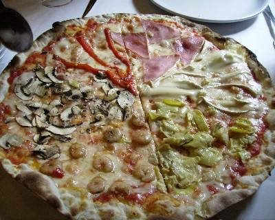 Photo: Pizza at La Tagliatella in Cartagena, Spain. Credit: Lisa Borre.