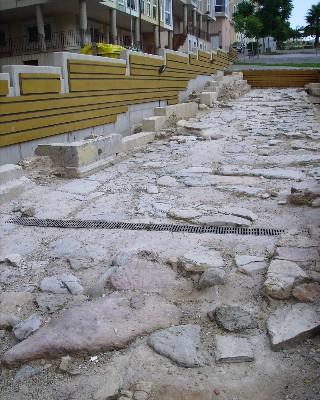 Photo: Roman road, Cartagena, Spain. Credit: Lisa Borre.