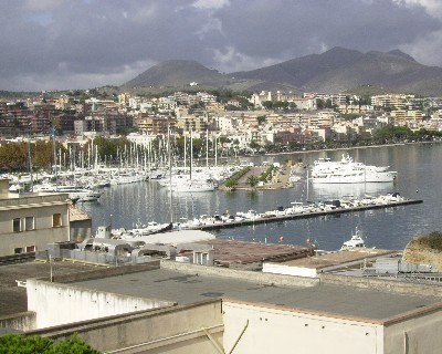 Photo: View of Base Nautica Flavio Gioia, Gaeta, Italy. Credit: Lisa Borre.