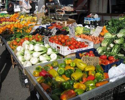 Photo: market in Gaeta, Italy. Credit: Lisa Borre.