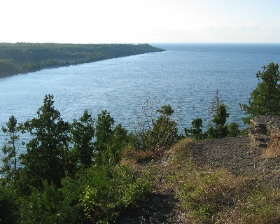 Photo: View of Gore Bay, Ontario. Credit: L. Borre.