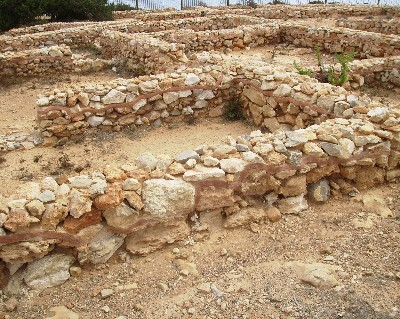Photo: Remains of a Phoenician settlement on Ibiza. Credit: Lisa Borre.
