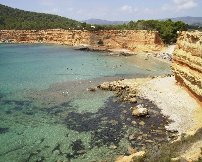 Photo: Sa Caletta on the southern coast of Ibiza. Credit: Lisa Borre.