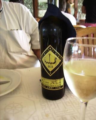 Photo: Wine in Ibiza, Spain. Credit: Lisa Borre.