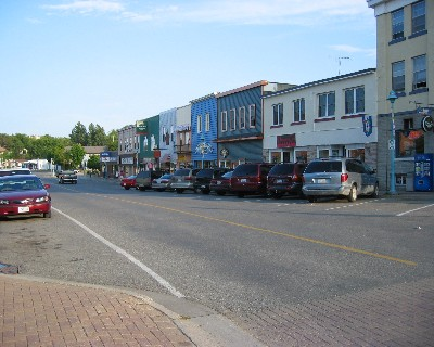 Photo: Downtown Little Current, North Channel, Ontario. Credit: L. Borre.