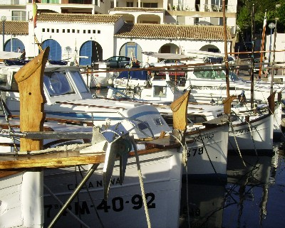 Photo: Local fishing boats, Balearic Islands, Spain. Credit: Lisa Borre.