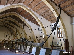Photo: The museum in Marsala houses the only recovered remains of a Phoenician ship in the Mediterranean. Credit: Lisa Borre.