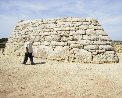 Photo: Bronze Age monument, Naveta des Tudons, Menorca, Spain. Credit: Lisa Borre.