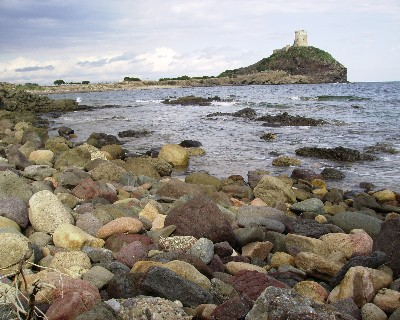 Photo: Cabo di Pula from the Nora archeological site, Sardinia, Italy. Credit: Lisa Borre.