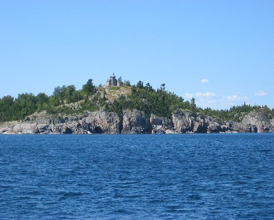 Photo: Granite Island, Lake Superior. Credit: L. Borre.