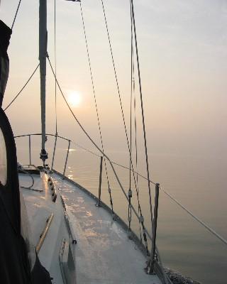 Photo: Georgian Bay, Lake Huron, near Tobermory. Credit: L. Borre.