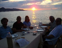 Photo: Dining on the shores of the Black Sea. Credit: Lisa Borre.