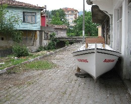 Photo: Kurucaşile is a boat-building town on the Black Sea coast. Credit: Lisa Borre.