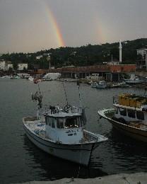 Photo: Rainbow in Pazar, Turkey. Credit: Lisa Borre.