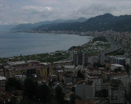 Photo: Rize, Turkey on the Black Sea. Credit: Lisa Borre.