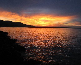 Photo: Sunset in Yakakent, Turkey. Credit: Lisa Borre.