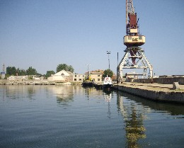 Photo: port of Skadovsk, Ukraine. Credit: Lisa Borre.