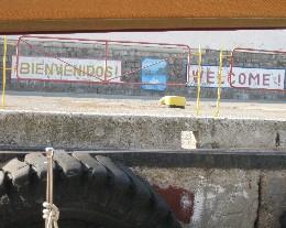 Photo: Welcome to Ukraine, Yalta. Credit: Lisa Borre.