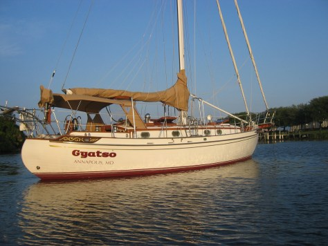 Photo: Tayana 37 s/y Gyatso in Florida. Credit: Lisa Borre.