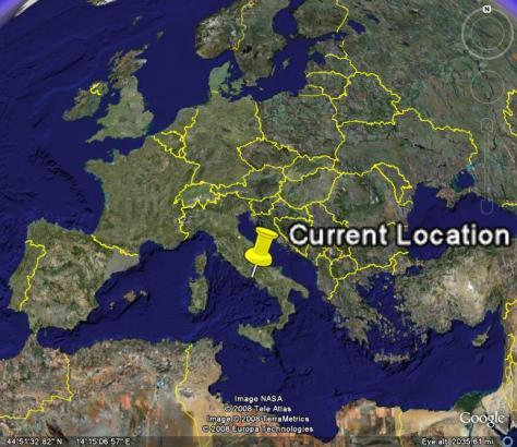 Image: Map of Gaeta, Italy. Credit: Lisa Borre.