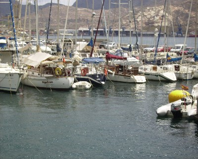 Photo: s/y Gyatso in Cartagena, Spain. Credit: Lisa Borre.