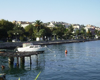 Photo: Gaeta, Italy waterfront. Credit: Lisa Borre.
