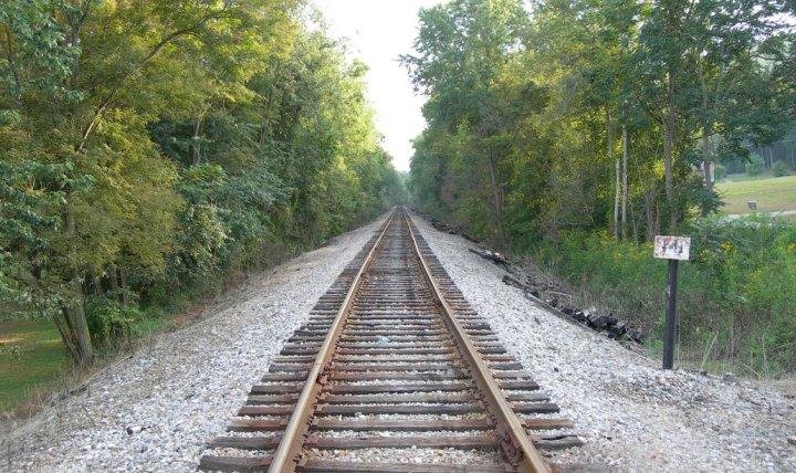 train_track_stock_by_alienjacki_stock