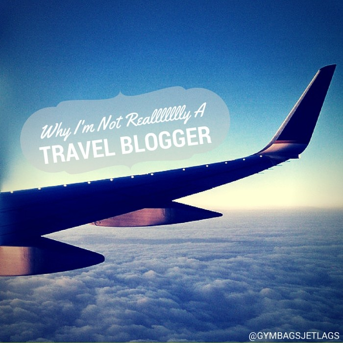 Not-a-travel blogger