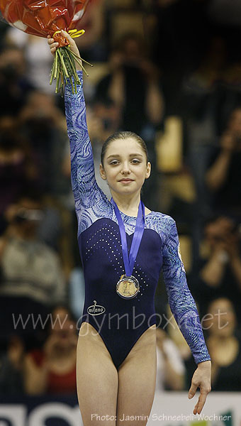 Russias Aliya Mustafina