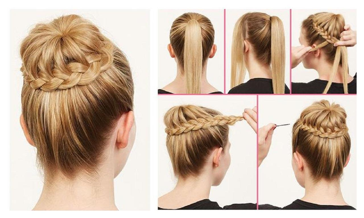 12 Most Beautiful Hairstyles You Will Love   Easy Step by step Tutorials 1
