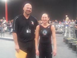 J and Bri Gymfinity Championship
