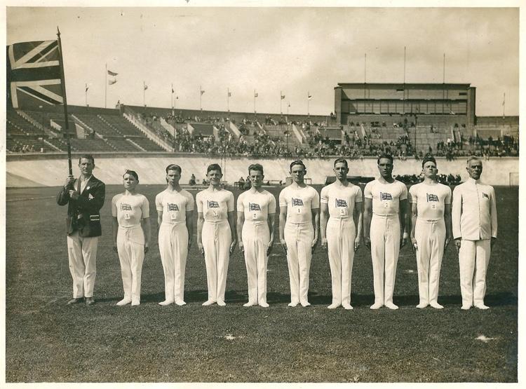 1928 GB Olympic Men's Gymnastics Team