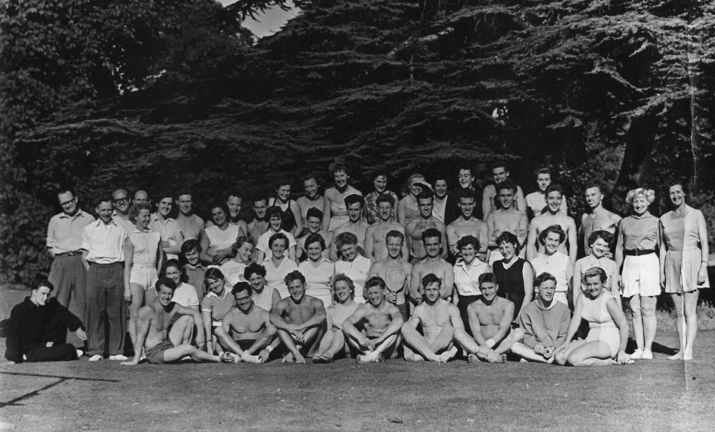 Bisham course circa 1957