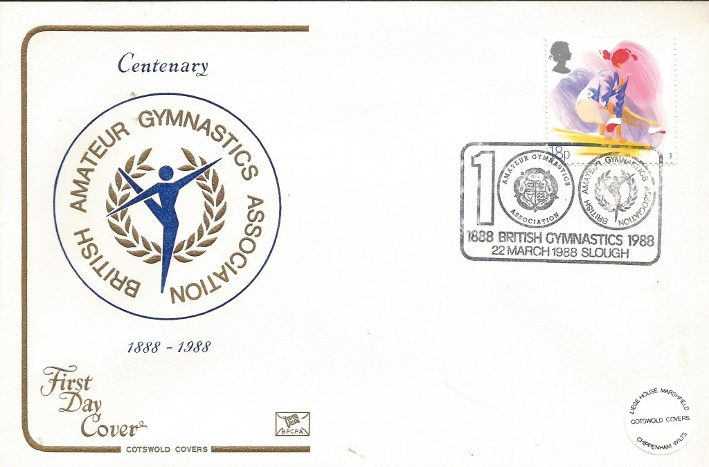 BBAGA Centenary stamp 1988