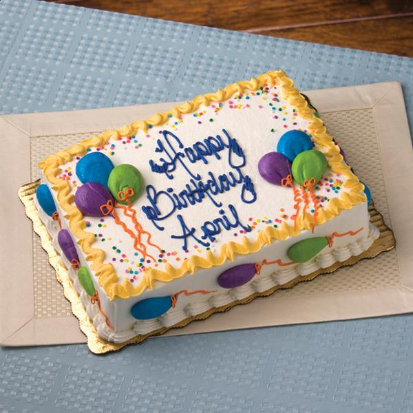 Birthday Cake Image 1