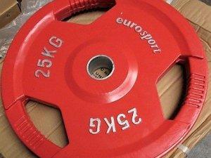 GrandMaster 25kg Nya viktskivor