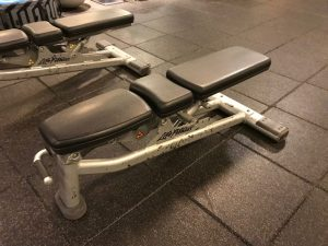 Life Fitness Ställbar bänk