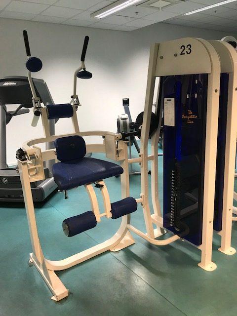 Abdominal crunch CL Fitness