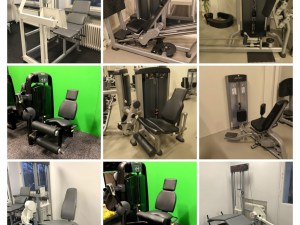 Benmaskiner Världsklass GymPartners Begagnade