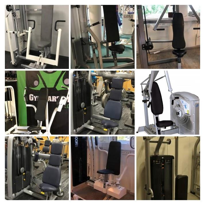 Begagnade Bröstmaskiner Gymkvalitet Världsklass