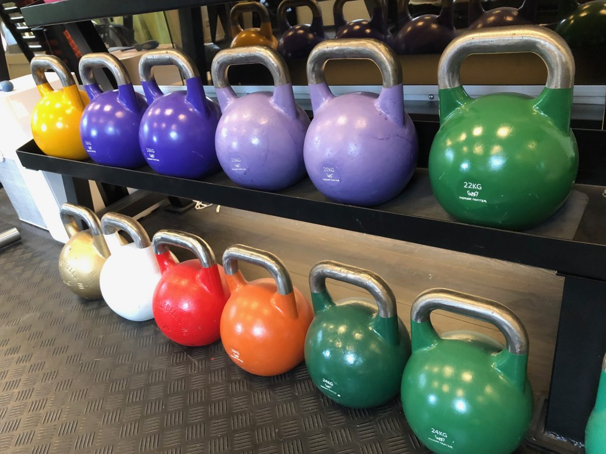 Competition Kettlebell 22kg GymSupporten NF Green