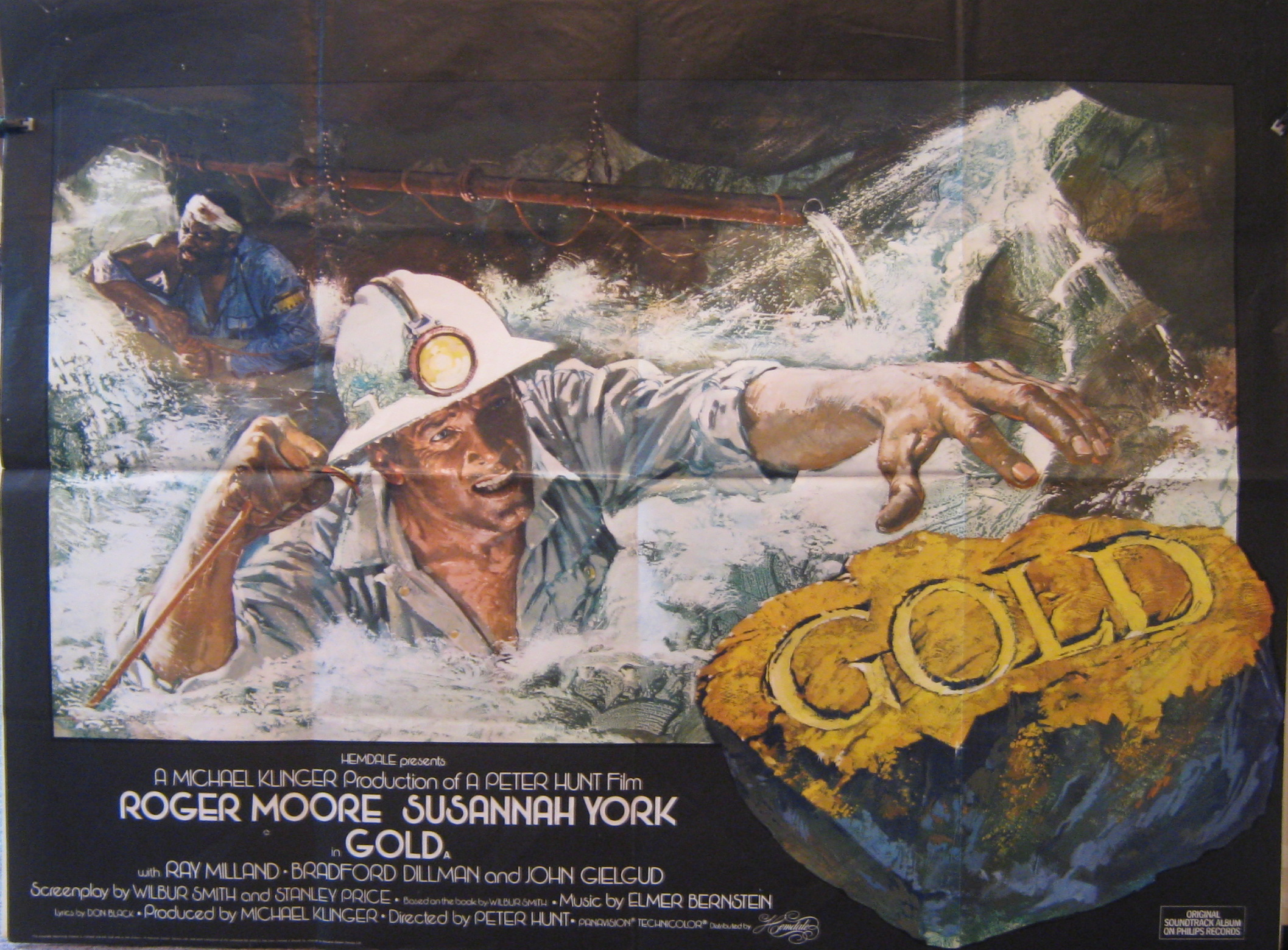 Image result for Gold poster 1974